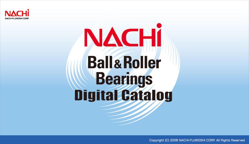 nachi bearings. nachi ball\u0026roller bearings digital catalog nachi